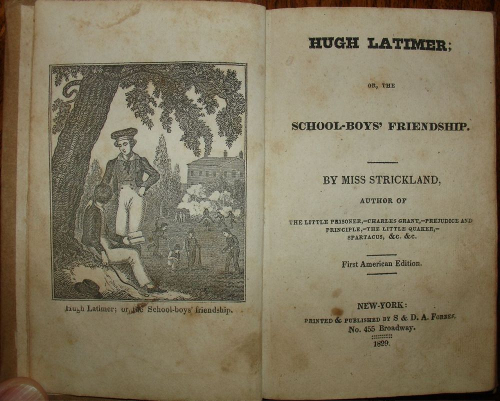 Hugh Latimer, or The School Boys' Friendship (1828)